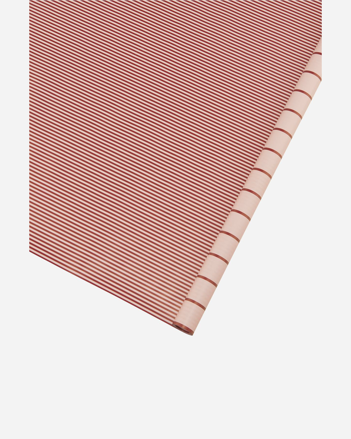 Gift wrapping paper, Stripes, Red/Pink, 90 gsm.