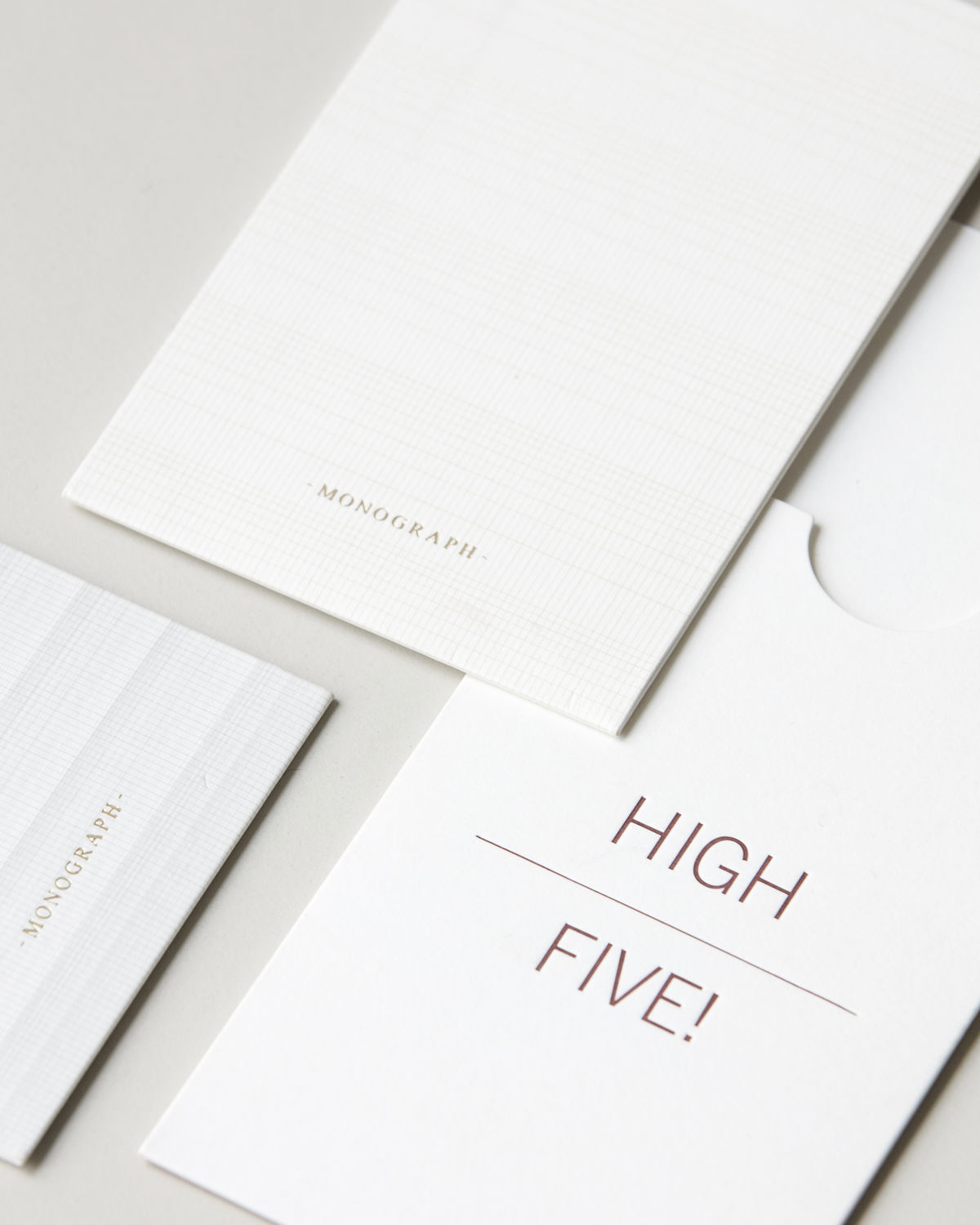 Note cards w. envelope, Occations, White, Set of 3 designs