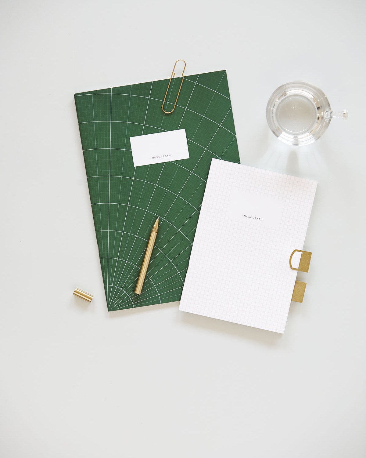 Note book, A5, Green/White, Set of 2 designs, 60 pages, Ruled/Graph paper